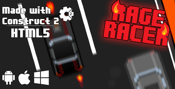 Rage Racer - HTML5 Game (CAPX) - CodeCanyon Item for Sale