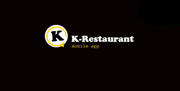 K-Restaurant Mobile App - CodeCanyon Item for Sale