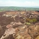 The Colourful Remains of the Former Copper Mine Parys Mountain Near Amlwch on the Isle of Anglesey - VideoHive Item for Sale
