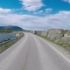 Driving a Car on a Road in Norway Atlantic Ocean Road or the Atlantic Road - VideoHive Item for Sale