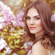 Beautiful woman with flowers of lilac - PhotoDune Item for Sale