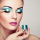 Makeup artist applies eye shadow - PhotoDune Item for Sale