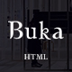 Buka - One Page Portfolio - ThemeForest Item for Sale