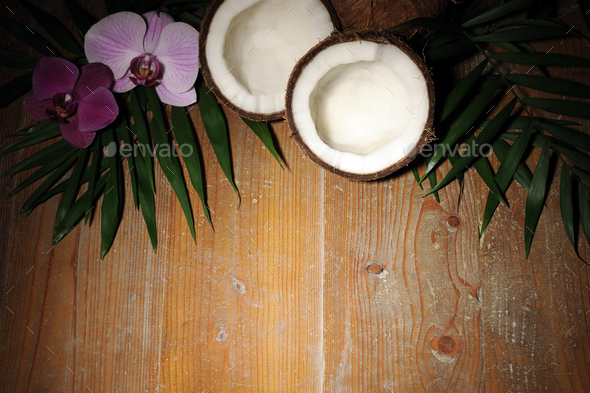 tropical background - Stock Photo - Images