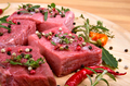 Raw beef meat close up - PhotoDune Item for Sale