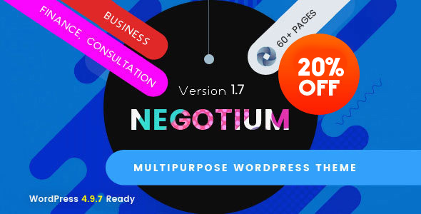 Negotium - Multipurpose Business WordPress Template - 10