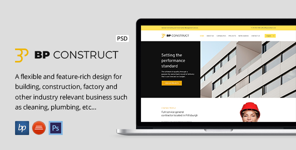BPC - Construction Company PSD - Business Corporate