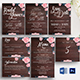 Rustic Wooden Wedding Template Suite - GraphicRiver Item for Sale
