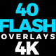 Flash Overlays 4K - VideoHive Item for Sale