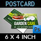 Garden Services Postcard Template Vol.3