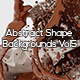 Abstract Shape Backgrounds Vol5 - GraphicRiver Item for Sale