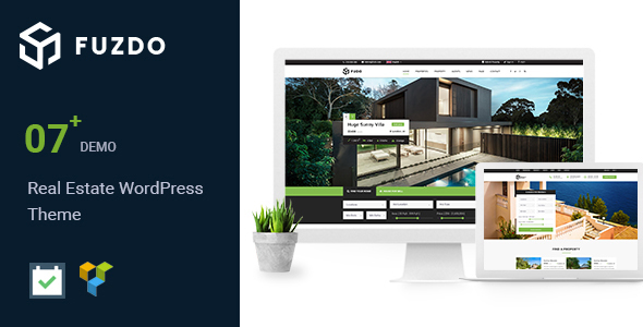 Image of Fuzdo - Real Estate WordPress Theme
