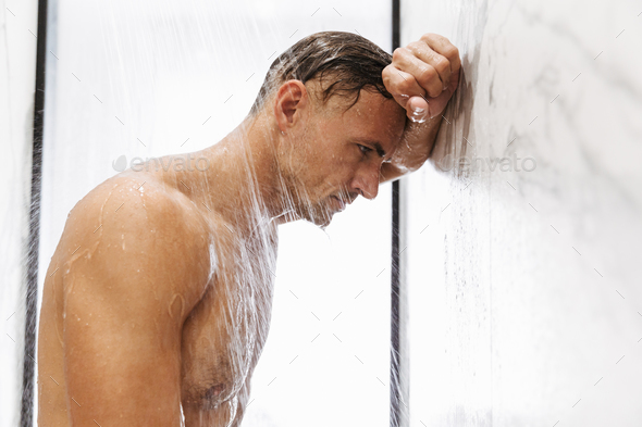 Confident muscular man - Stock Photo - Images