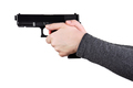 Close up of a gun in a hands - PhotoDune Item for Sale
