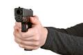Gun in hands - PhotoDune Item for Sale