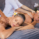 Mature couple having massage at spa - PhotoDune Item for Sale