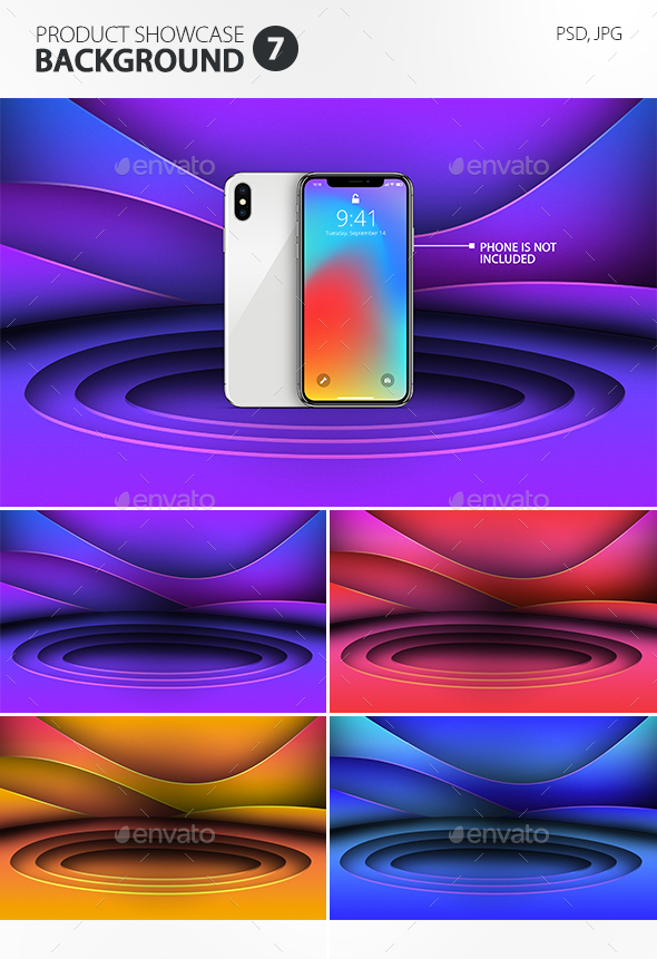 Product Showcase Background 7 - Abstract Backgrounds