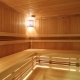 Interior of a Wooden Sauna - VideoHive Item for Sale