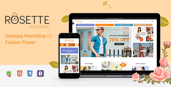Image of Rosette - Beauty Responsive PrestaShop 1.7 Fashion Theme
