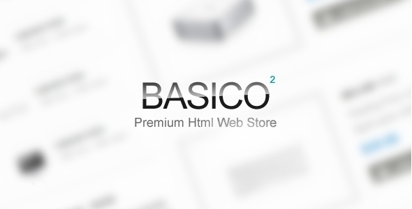 Basico: E-commerce Site Template - Retail Site Templates