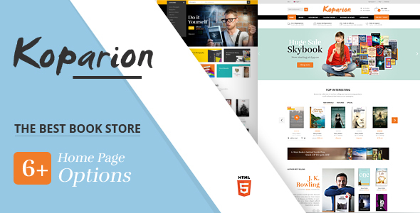 Koparion – Book Shop HTML5 Template - Shopping Retail