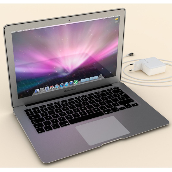 Macbook Air - 3DOcean Item for Sale