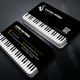 Creative Music Piano Business Card