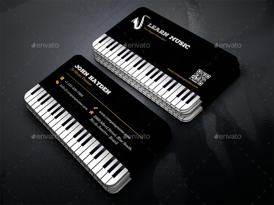 creative music piano business card creative business cards 01_music_business_cardjpg 02_music_business_cardjpg - Music Business Cards