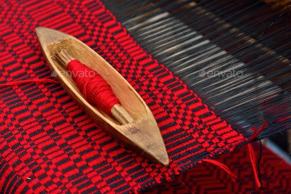 Weaving shuttle - Stock Photo - Images