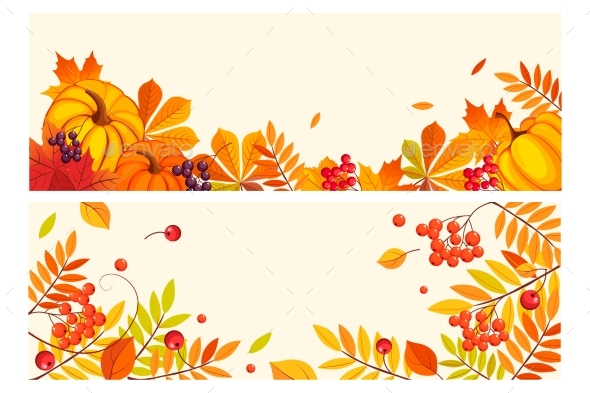 Thanksgiving Background with Space for Text - Miscellaneous Seasons/Holidays