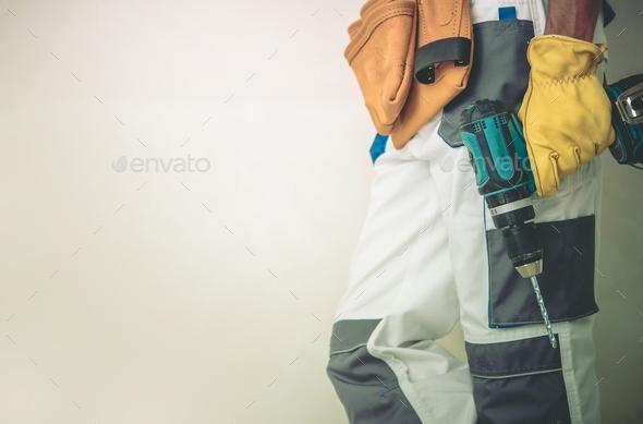 Men Preparing For Work - Stock Photo - Images