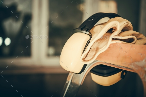 Ear Muffs Noise Reduction - Stock Photo - Images