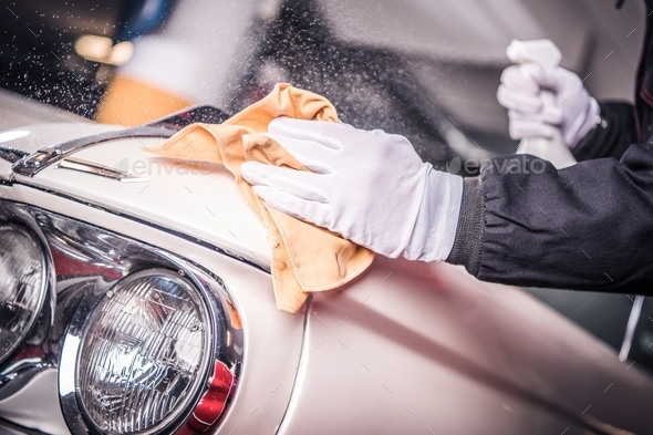 Car Body Paint Restoration - Stock Photo - Images