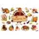 Turkey for Thanksgiving Day - GraphicRiver Item for Sale