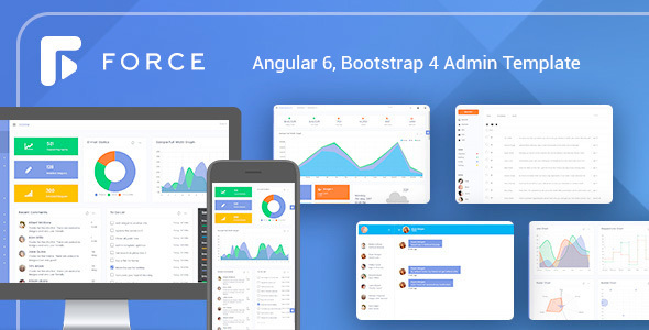 Angular 6 Admin Template with Bootstrap 4 - Admin Templates Site Templates