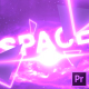 Space Text | Premiere Pro - VideoHive Item for Sale