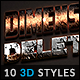 10 3D Text Effects vol.09