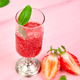 Summer refreshing strawberry granita - PhotoDune Item for Sale