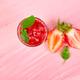 Summer refreshing strawberry granita - PhotoDune Item for Sale