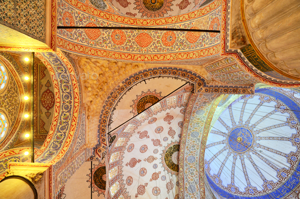 The Sultan Ahmed Mosque - Stock Photo - Images