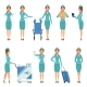 Stewardess Characters