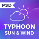 Typhoon - Solar Energy PSD Template - ThemeForest Item for Sale