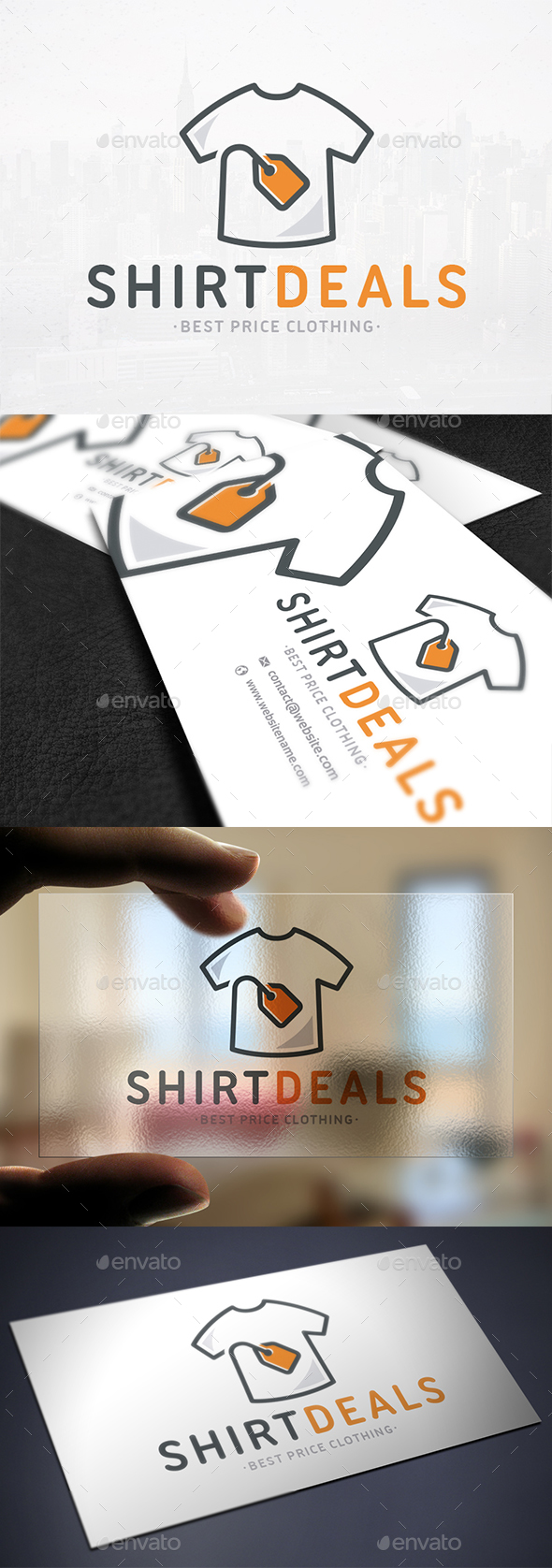 Clothing Deals Logo Template - Objects Logo Templates