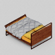 Isometric Bed - GraphicRiver Item for Sale