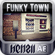 Funky Town - A 3d, Cinematic, Video Display Promo - VideoHive Item for Sale