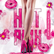 Hot Pink Party Flyer - GraphicRiver Item for Sale