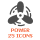 Energy & Power Filled Icon - GraphicRiver Item for Sale