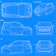 Blueprint Car - Cygnet 2011 - 3DOcean Item for Sale