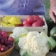 Top View of a Table with Fresh Vegetables - VideoHive Item for Sale