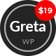 Greta - Modern Personal WordPress Blog Theme - ThemeForest Item for Sale